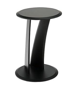Euro Style Mushroom Table, Black