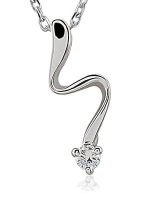 Divas Diamond Conjunto de cadena y colgante plata de ley 925 milésimas
