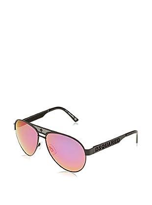 D Squared Gafas de Sol Dq0138 (59 mm) Metal Oscuro