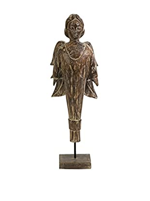 Addae Wood Carved Standing Angel
