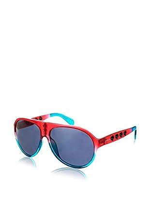 Diesel Sonnenbrille DL0098-68A (61 mm) rot/blau