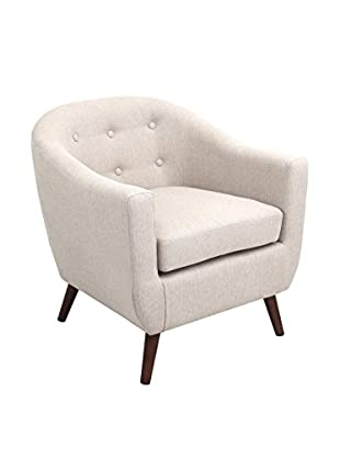 LumiSource Rockwell Mid Century Modern Accent Chair