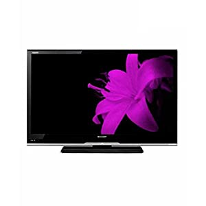 Sharp LC-32LE341M 32-inch 1366x768 HD LED Television (White)
