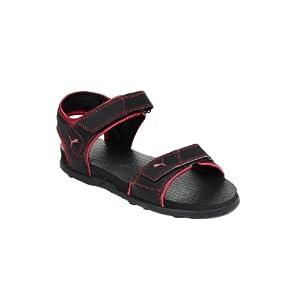 Puma Men Black Sonic III Sports Sandals