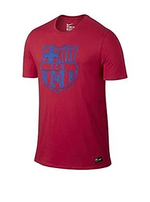 Nike T-Shirt Manica Corta Fcb Crest Tee