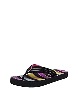 Reef Chanclas Little Casual (Negro/Multicolor)