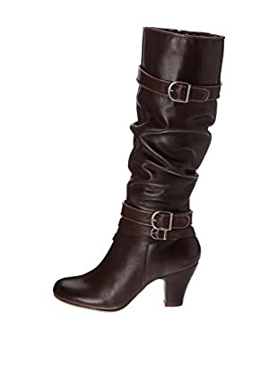 Hush Puppies Botas Lonna Shootie (Marrón Oscuro)
