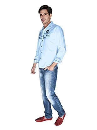Giorgio Di Mare Camisa Worked Agatho (Azul)