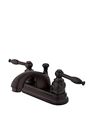Kingston Brass Centerset Lavatory Faucet With Brass/Abs Pop-Up, Oil Rubbed Bronze