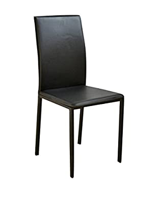 Evergreen House Set Silla 4 Uds. Negro