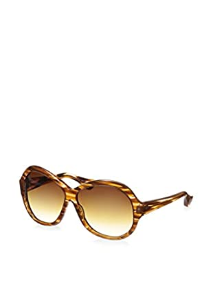 DITA Women's 22010D-60 Seraph Sunglasses, Brown Feather