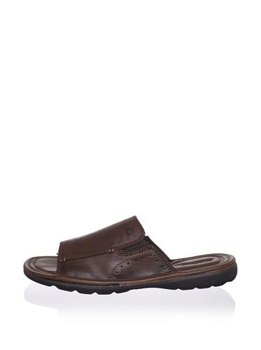 Kenneth Cole REACTION Men's Day Dreaming Slide Sandal (Brown)
