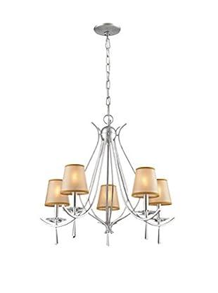 Artistic Lighting Chandelier, Silver