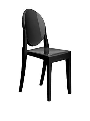 Premier Houseware  Stuhl 2er Set 2403834 schwarz