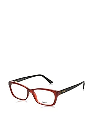 Fendi Montura 1034 (52 mm) Burdeos