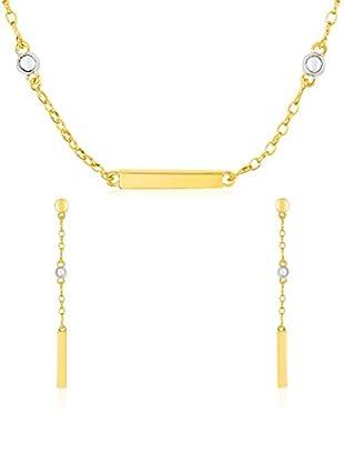 Bijoux pour tous Conjunto de collar y pendientes