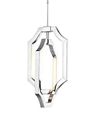 Feiss 4-Light Mini Audrie Pendant, Polished Nickel