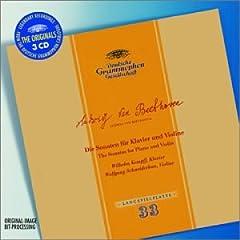 輸入盤CD W.シュナイダーハーン(Vn)&W.ケンプ(P) ベートーヴェン:ヴァイオリン・ソナタ全集の商品写真