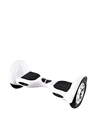 BALANCE RIDERS Skateboard Elettrico Hoverboard S10+ Bianco