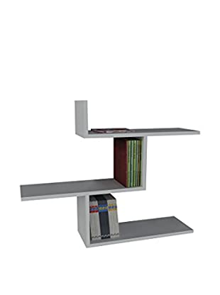 Dekorister Bücherregal Bien weiß 22x89,5x70,5cm