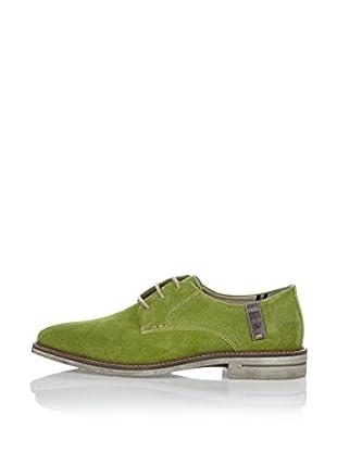 Fretz Men Zapatos Derby Fred (Verde / Gris)