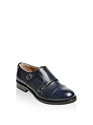 British Passport Zapatos Monkstrap