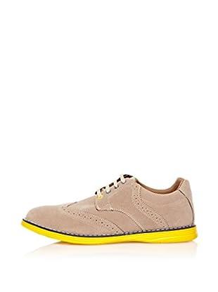 Star Jaguar Zapatos Derby Contrast (Beige)