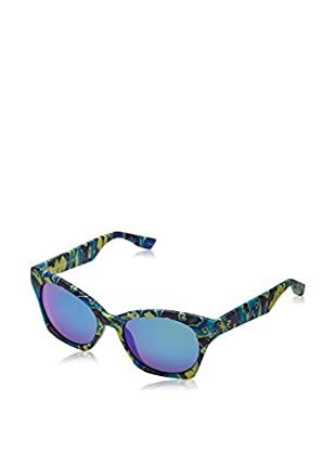 Mcq Alexander McQueen Sonnenbrille MCQ 0003/S (53 mm) blau/limette