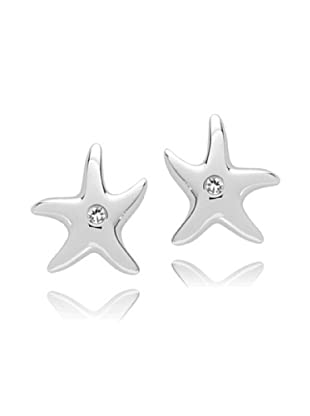 Secret Diamonds Pendientes Estrella Plata 925 Diamanten
