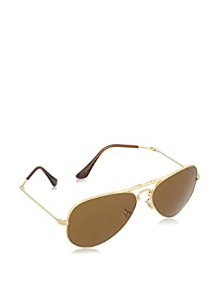 Ray-Ban Sonnenbrille AVIATOR FOLDING (55 mm) goldfarben
