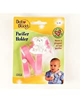 Baby Buddy - Bear Pacifier Holder Pink (1 pack of 18 items)