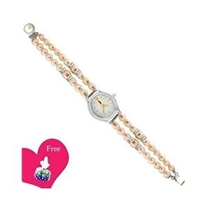 Jpearls Mesmerizing Pearl Watch , SJPJA-217A