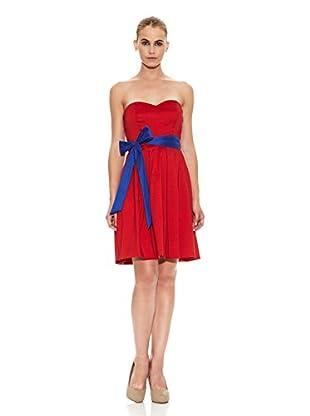 Barbarella Vestido Jeanne (Rojo)
