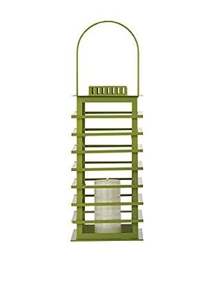 Torre & Tagus Large Green Sonoma Lantern