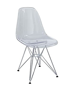 Modway Paris Dining Side Chair, Clear