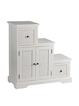 Colonial Style Möbelstück weiß