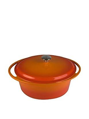 Artland La Maison 7-Qt. Oval Covered Casserole, Orange