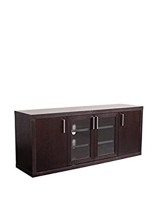 Urban Spaces Chico TV/Media Console, Wenge