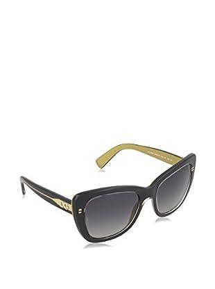 Dolce & Gabbana Sonnenbrille Polarized 4260 2955T3 (54 mm) schwarz/goldfarben