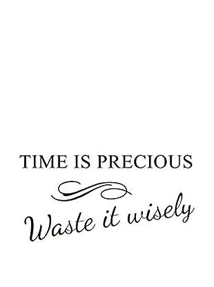 LO+DEMODA Wandtattoo Time