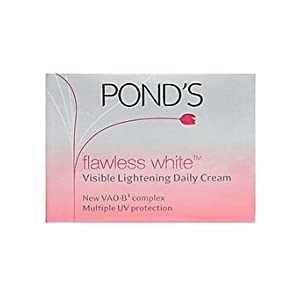 Ponds Flawless White Visible Lightening Daily Cream - 50Gm
