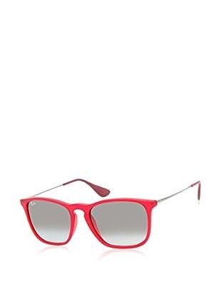 Ray-Ban Sonnenbrille Rb 4187 89811 (54 mm) rot/grau