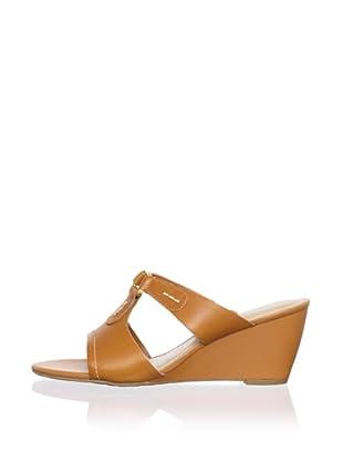 Rockport Women's Nicoleen Wedge Sandal (Sudan Brown)