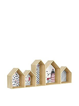 Little Nice Things Regal Houses Bookcase Sea