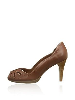 Pastelle Zapatos peep toe Gloria