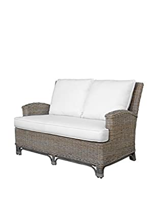 Panama Jack Exuma Loveseat With Cushions, Kubu Grey
