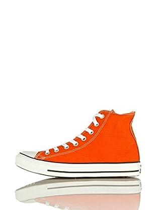 Converse Zapatillas All Star Hi Canvas Seasonal (Naranja)