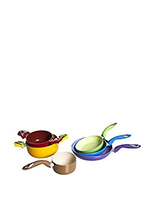Enjoy Home  Töpfe und Pfannen 6 tlg. Set Funny Cook mehrfarbig