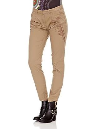 Desigual Pantalón Elvira (Beige)