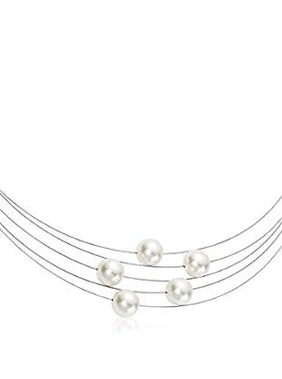 Steel Art Halskette Florere silberfarben